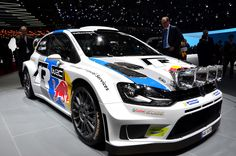 VW Polo R WRC of Sébastien Ogier // Automobilsalon Genf 2013