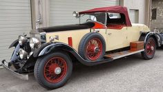 1929 re-bodied by Kitchener & Woodiwiss (chassis 71JS)
