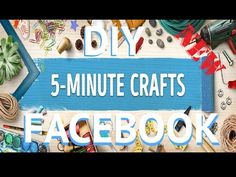 top 10 diy top nifty videos 5 minute crafts youtube On 5 minute crafts facebook