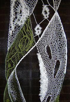 Terug naar 't kantkussen. Needle Lace, Bobbin Lace, Lace Art, Textiles, Lacemaking, Lace Jewelry, Textile Art, Lace Detail, Uni