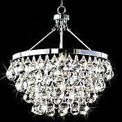 5 Lights Luminaire LED Modern Pendant Lights with Crystal Drops,Lustre De Cristal Included,For living room. Product ID: Chandelier Design, Lampshade Chandelier, 5 Light Chandelier, Pendant Lighting, Light Pendant, Pendant Chandelier, Crystal Pendant, Luxury Chandelier, Ceiling Pendant