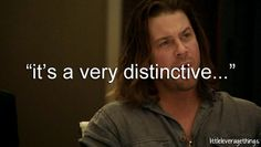 "eliot spencer ""it's a very distinctive..."" 