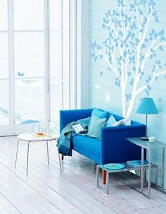 Wall Art - Vinyl wall decal tree decals wall stickers nursery by ChinStudio, $58.00