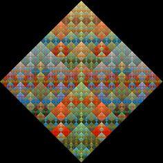 fractal flames quilt