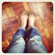 I love, love my shoes! :)