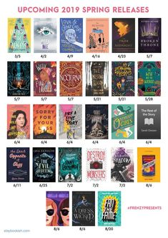 Harper Collin's upcoming Spring 2019 new releases. The most anticipated reads that you must get your hands on as soon as they come out! You'll fall in love with these books! Everything from fantasy, to Young Adult (YA), to historical fiction, to women's contemporary fiction! Cool Books, Ya Books, Books To Read, Any Book, Love Book, Books For Tweens, Book Lists, Reading Lists, Historical Fiction