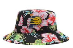 c30daf2e116 NBA Indiana Pacers Bucket Hats Flower