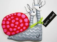 SnaiL NaMed LoLa by buttuglee on Etsy
