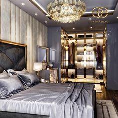 Modern Bedroom Design, Home Room Design, Master Bedroom Design, Bed Design, Home Interior Design, House Design, Floral Bedroom, Bedroom Decor, Modern Bungalow Exterior
