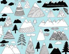 Cute mountains