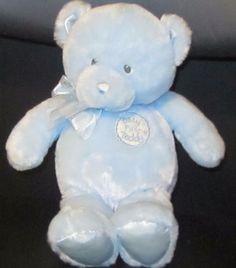 "11"" GUND Blue SOFT PLUSH My First Teddy 58897 (7) | Toys & Hobbies, Stuffed Animals, Gund | eBay!"