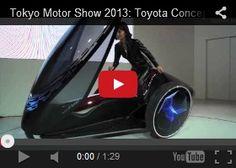 Futuristic Vehicle, Tokyo Motor Show 2013: Toyota Concept Cars – FV2, Toyota FCV Concept, Future Car