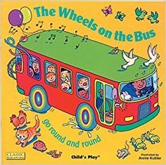 The Wheels on the Bus Go Round and Round (Classic Books With Holes) Annie Kubler 0859531368 9780859531368 Everyones getting the bus but where are they going? Who can you see? Bouncy illustrations, innovative die cutting and popula Transportation Unit, Wheels On The Bus, Different Feelings, Thematic Units, Literacy Skills, Classic Books, Story Time, Kids Playing, Con Cd