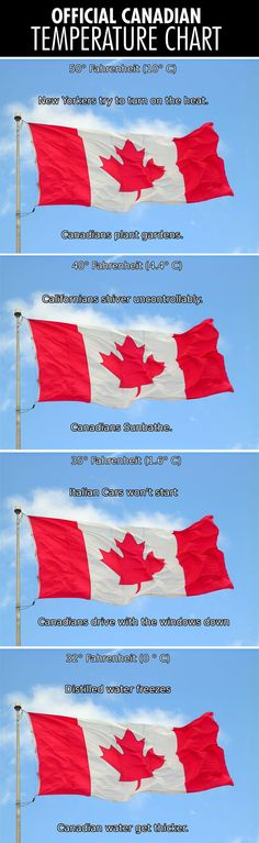 Funny pictures about Official Canadian temperature chart. Oh, and cool pics about Official Canadian temperature chart. Also, Official Canadian temperature chart.