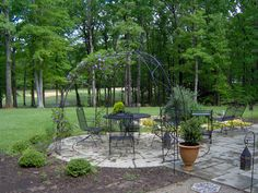 Mill Quarter Patio and Iron Gazebo | Flickr - Photo Sharing!
