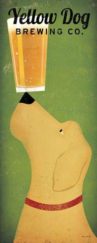 Yellow Dog Brewing Co. Print by Ryan Fowler at Art.com- sue & bob