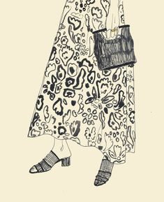 Artist Rosie Mcguinness at Illustration Division Art Inspo, Inspiration Art, Watercolor Drawing, Painting & Drawing, Life Drawing, Watercolor Flowers, Figurative Kunst, Art Et Illustration, Animal Illustrations
