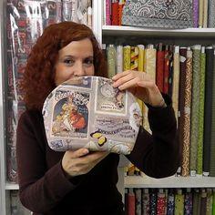 bolsa de costura neceser Bobble Crochet, Milan Design, Patchwork Bags, Leather Pieces, Vintage Denim, Lunch Box, Patches, Fall Winter, Presents