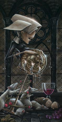 Paintings | Anthony Clarkson's Grim Wonderland