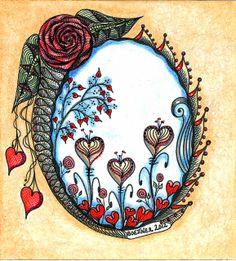 """Garden of the hearts"" by carolynboettner, via Flickr"