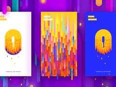 2,715 отметок «Нравится», 7 комментариев — UI DESIGNS (@ui.designs) в Instagram: «Color game is very strong with this design. Designed by Frannnk - Link:…»
