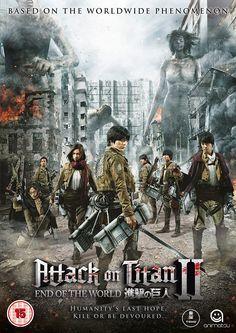 Attack on Titan 2 (2015) Watch Online Full Movie Dual Audio Hindi English BluRay HD 720p, 480p