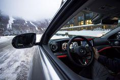 "When you're months into winter, but you're a ""windows down"" purist. Adam Kurtz via Mercedes-Benz USA Mercedes Benz, Audi, Mindfulness, Windows, Toys, Winter, Photography, Black, Open Window"