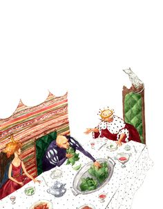 "Cristiana Radu illustration for ""Harap Alb - Romanian Fairytale"". Naive, Snow Globes, Fairy Tales, Prince, Illustrations, Decor, Christians, Literatura, Pictures"