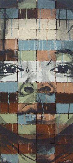 Artist Ruben Ubiera #streetart #art #graffiti