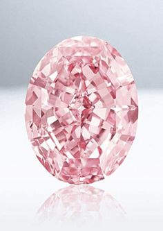 Diamond, called Pink Star Diamond (formerly called the Steinmetz Pink), carats (graded Internally Flawless), Southern Africa. The largest Fancy Vivid Pink diamond known. Sold for USD in Nov 2013 Diamond Gemstone, Gemstone Jewelry, Diamond Jewelry, Glass Jewelry, Gold Jewellery, Pink Stars, Fancy, Rocks And Gems, Rocks And Minerals