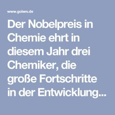 """Der Nobelpreis in Chemie ehrt in diesem Jahr drei Chemiker, die große Fortschritte in der Entwicklung der dafür nötigen Bauteile gemacht haben. Die offizielle Begründung """"für Entwurf und Synthese molekularer Maschinen"""" geht allerdings recht großzügig mit dem Begriff Maschine um. Die Grundlagen für die aktuelle Forschung wurden schon in den 1950er Jahren gelegt. Sie begannen als chemische Kuriosität."""