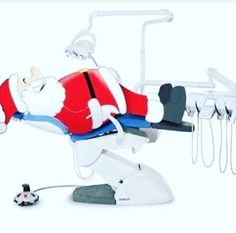 Дед Мороз у стоматолога #стоматология #dentistry
