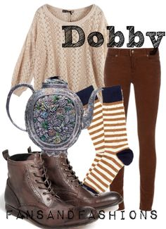 Harry Potter Characters Fashion Inspiration...I'd be a house any day if I get to wear this cute outfit lol
