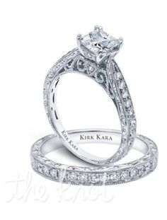 8 Favorite Princess Cut Diamond Engagement Rings | The Knot Blog – Wedding Dresses, Shoes, & Hairstyle News & Ideas