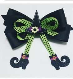 Halloween Hair Bows, Baby Halloween, Witch Hair, Bow Image, Circle Monogram, Glitter Shoes, Doll Clothes, Little Girls, Hair Accessories