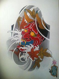 hannya japan tattoo