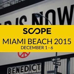 Grande gioia per una grande notizia: ci sarò anch'io al prossimo SCOPE di Miami, dal 1 al 6 dicembre! A breve più novità...stay tuned. #SabrinaMB #SCOPEMiamiBeach #gallery #art #exhibition #painting