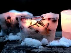 Cool project from www.kiwicrate.com/diy: Ice Lanterns