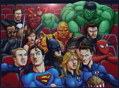 The Orb of Truth: Brae's TOP 10 SuperHero Movies