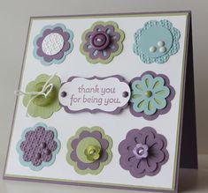 Cute thank you card...