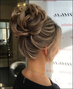 60 Updos for Thin Hair That Score Maximum Style Point | Bun updo ...