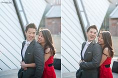 Christopher Luk (Toronto Wedding, Lifestyle, and Event Photographer):  Engagement Session - Erin and Brian - Toronto Wedding Photographer Downtown Royal Ontario Museum - Composite 003 CLP S