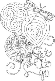 BLISS Inspirations Coloring Book Your Passport To Calm