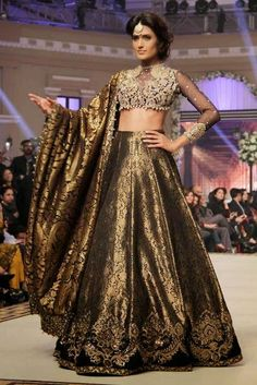 Bridal Wear created by Faraz Manan from 2015 Collection 1