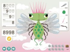 Math Bugs Full ($0.00) Math Bug teaches your 5-12 year-old child number sense. Teaches you about number groups like thousands, ones and hundredths. Meanwhile, you create a fun math bug by putting together parts like wings, arms and antennas.