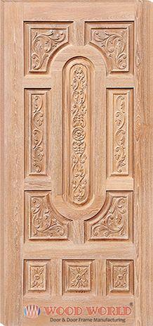 Wood World Catalog ::Wooden Door and Door Frame Manufacturing Company. Front Door Design Wood, Room Door Design, Wood Front Doors, Wooden Door Design, Door Design Interior, Interior Doors, Barn Doors, Modern Interior, Custom Wood Doors