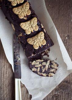 Vegan Kormos/Mosaiko (classic Greek dessert)