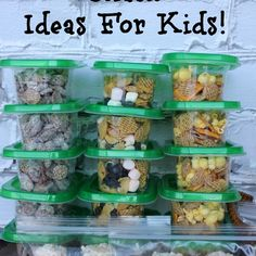 Easy On The Go Snacks For Kids! – Must Have Mom