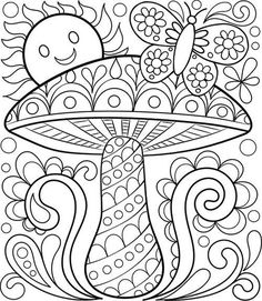 Free Adult Coloring Pages: Detailed Printable Coloring Pages for Grown-Ups — Art is Fun: