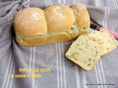 Pane alle olive con pasta madre | la cuoca in giallo